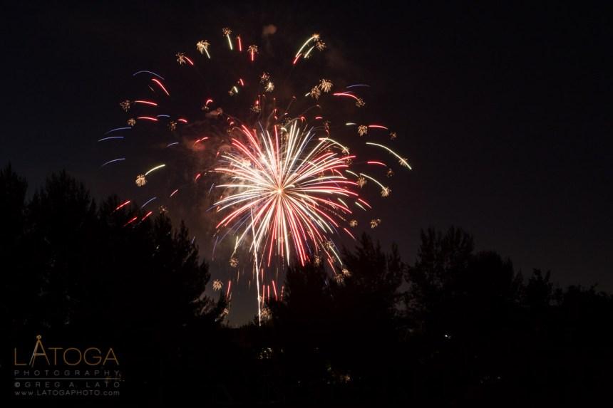 2009 4th of July Fireworks at Pleasanton, CA Fairground
