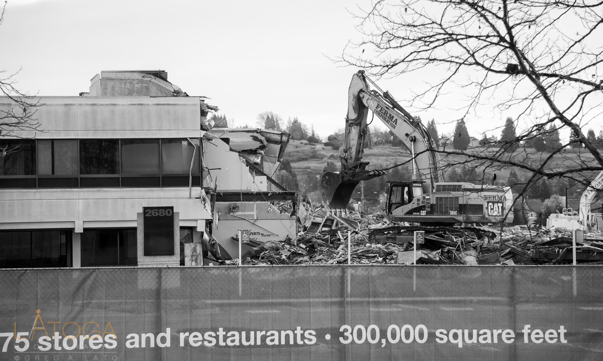 Bishop Ranch City Center Destruction