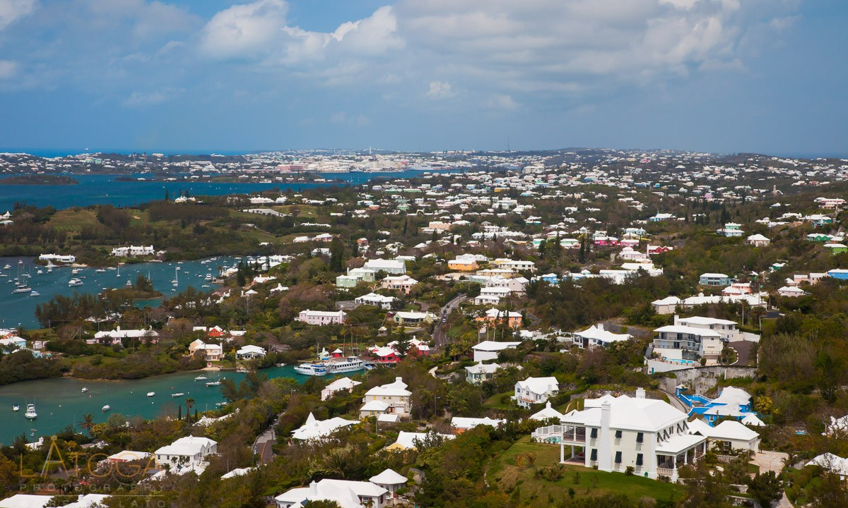 Bermuda Vista from Gibb's Hill Lighthouse