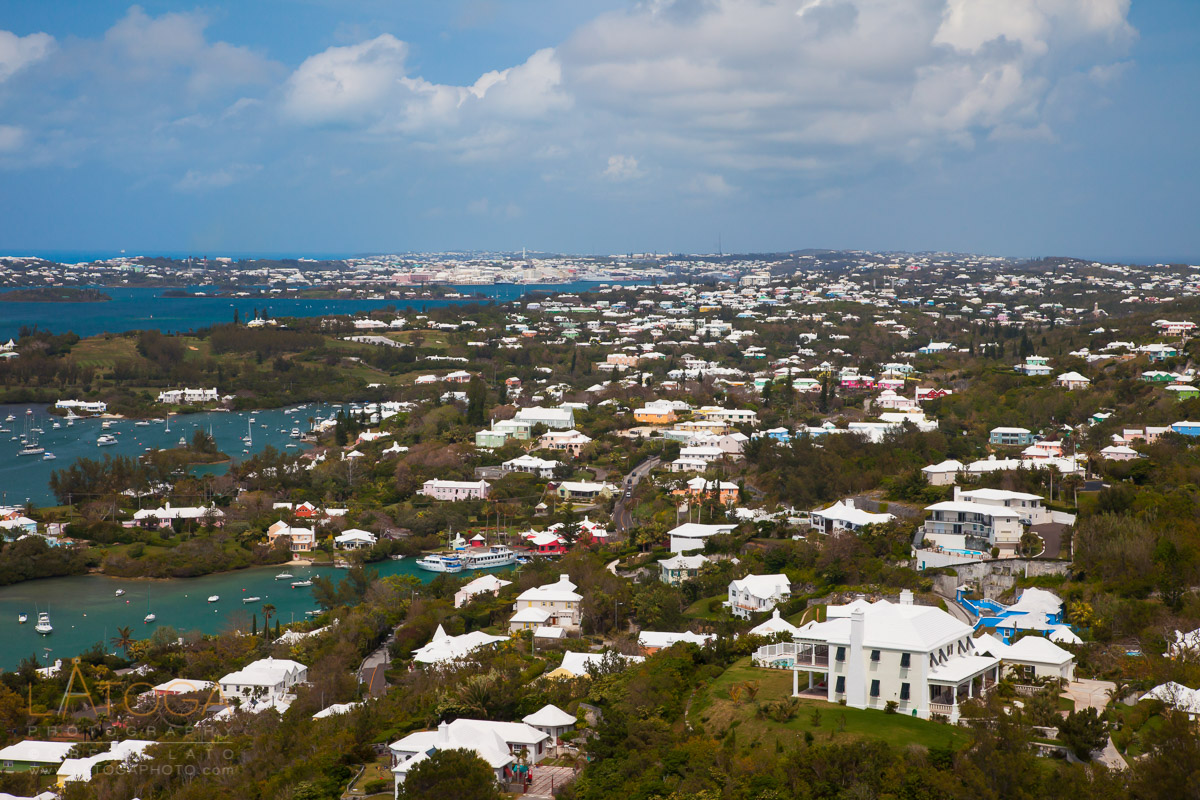 Bermuda Vista from Gibb's Hill Lighthouse