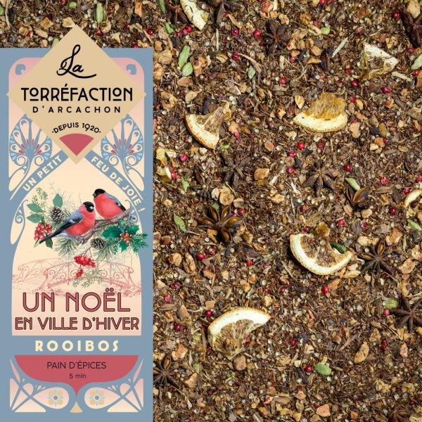 Un noël en ville d'hiver - La Torréfaction d'Arcachon - Thés et infusions - Recettes maison