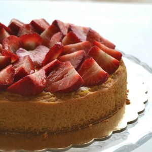 Crostata con fragole