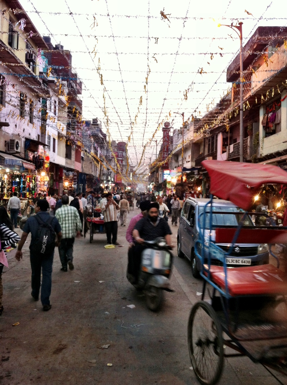 Image result for photo of a Delhi neighborhood