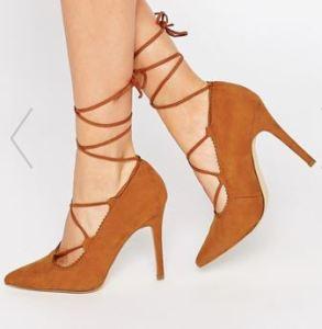 Escarpins à lacets - New Look