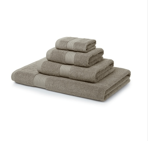 500 GSM Latte Towel Bale 12 Piece – 4 Face Cloths, 4 Hand Towels, 2 Bath Towels, 2 Bath Sheets