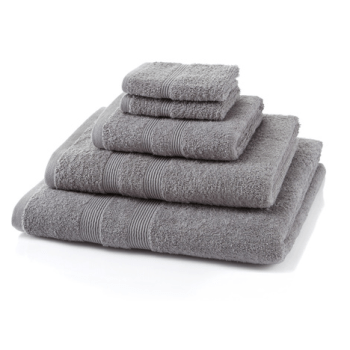 500 GSM Light Grey Towel Bale 10 Piece – 4 Face Cloths, 2 Hand Towels, 2 Bath Towels, 2 Bath Sheets