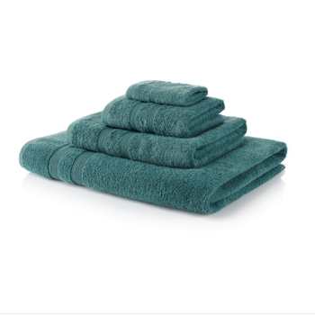 500 GSM Light Kingfisher Towel Bale 10 Piece – 4 Face Cloths, 2 Hand Towels, 2 Bath Towels, 2 Bath Sheets