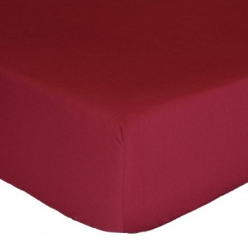 "12"" Deep Wine Fitted Sheet (Value Range)"