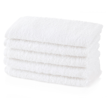 500 GSM Luxury White Guest Towels