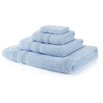 500 GSM Royal Egyptian Sky Blue Hand Towels
