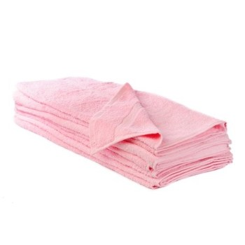 500GSM Pink Bath Sheets