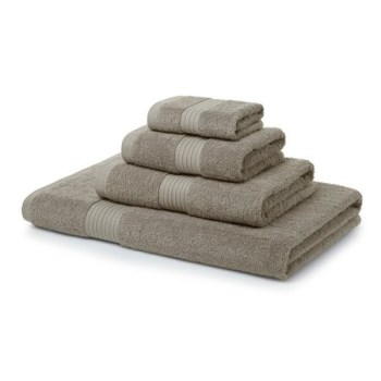 700 GSM Latte Towel Bale 5 Piece – 2 Face Cloths, 1 Hand Towel, 1 Bath Towel, 1 Bath Sheet