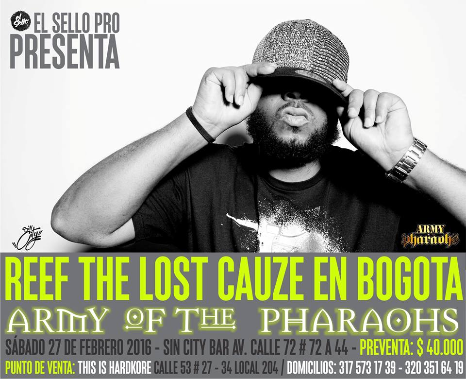 REEF THE LOST CAUZE