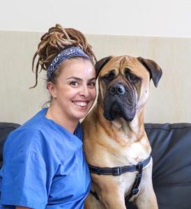 Leia - Leia Wood - trainee Vet Nurse