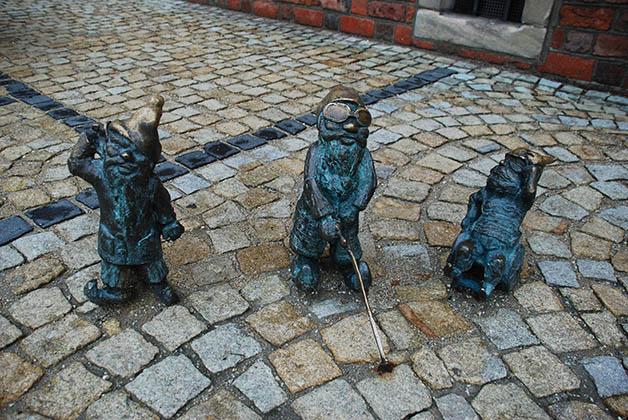 Resultado de imagen de enano wroclaw