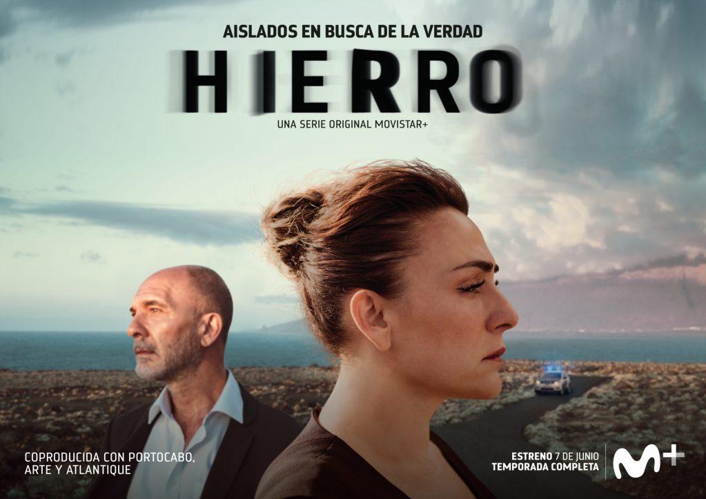 Cartel promocional serie Hierro Movistar+