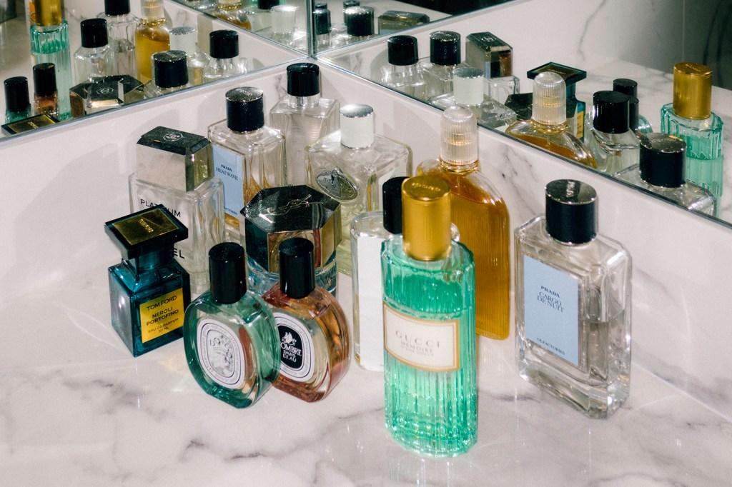 Colección de perfumes de Michael y Fernando - Lagado en los huesos