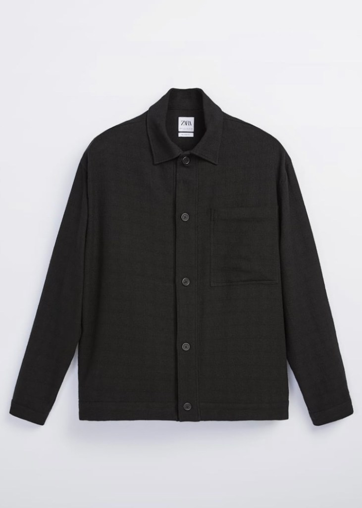 Sobre camisa Zara