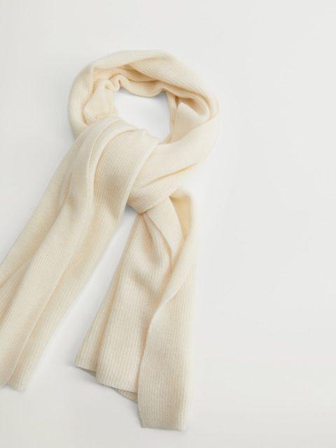 accesorios para el frío - bufanda cashmere de violeta by mango