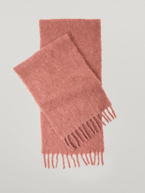accesorios para el frío - bufanda de lana de Massimo Dutti