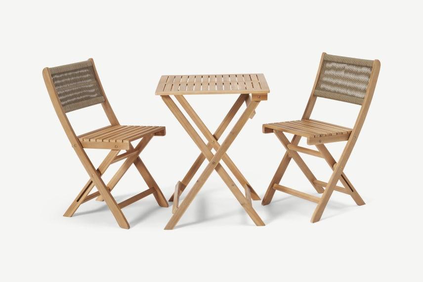 Muebles de terraza de Made.com juego de estilo bistró