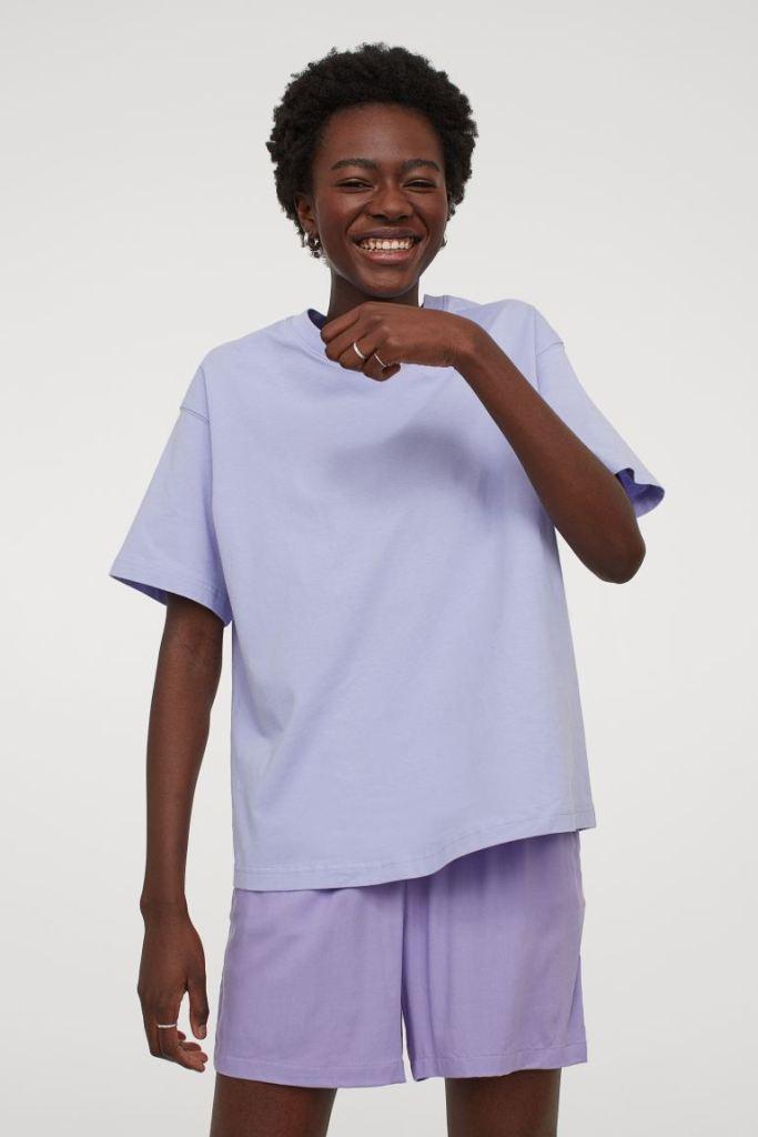 Bóxers shorts amplio con cintura elástica de H&M
