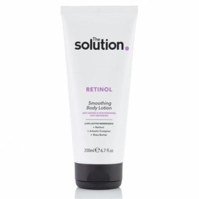loción corporal con retinol de The Solution