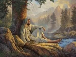 praying-on-a-mountain-top