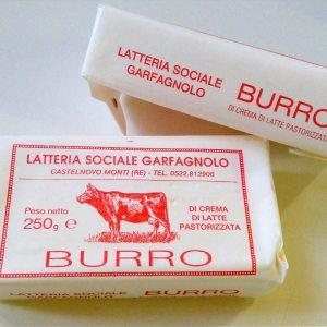 Burro del latte di Parmigiano Reggiano di Montagna, Latteria Garfagnolo