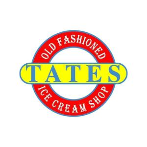 Logo from Tates Ice Cream
