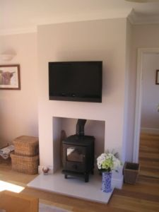 wood burner installation carlisle