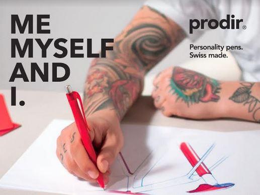 #Prodir Red