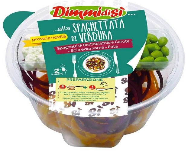 Con #DimmidiSì evviva gli spaghetti di verdura!!!