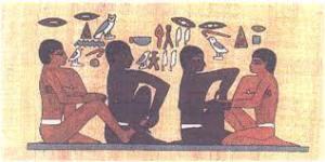réflexologie dans l'ancienne Egypte