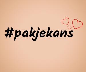 #Pakjekans