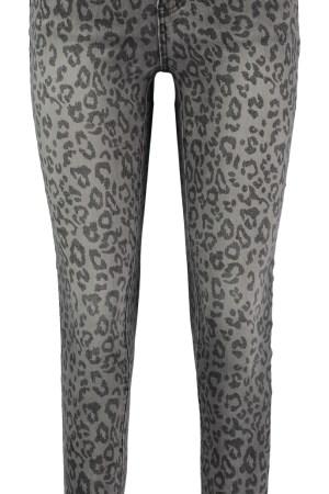 Hailys Jeans - Grey Leopard
