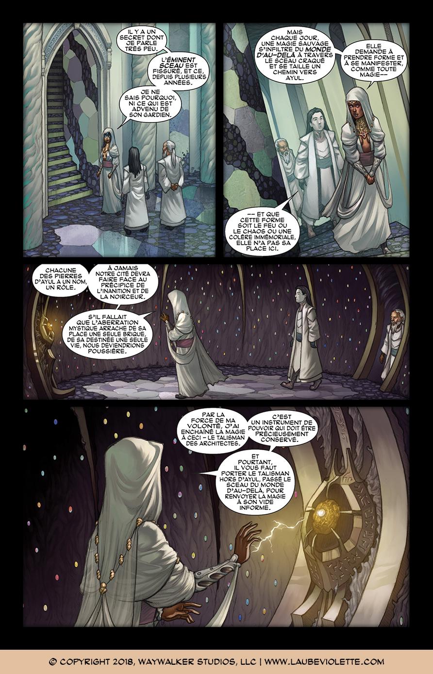 L'Aube Violette: L'Exil – Tome 1, Page 9