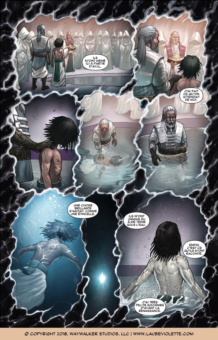 L'Aube Violette: L'Exil – Tome 2, Page 3