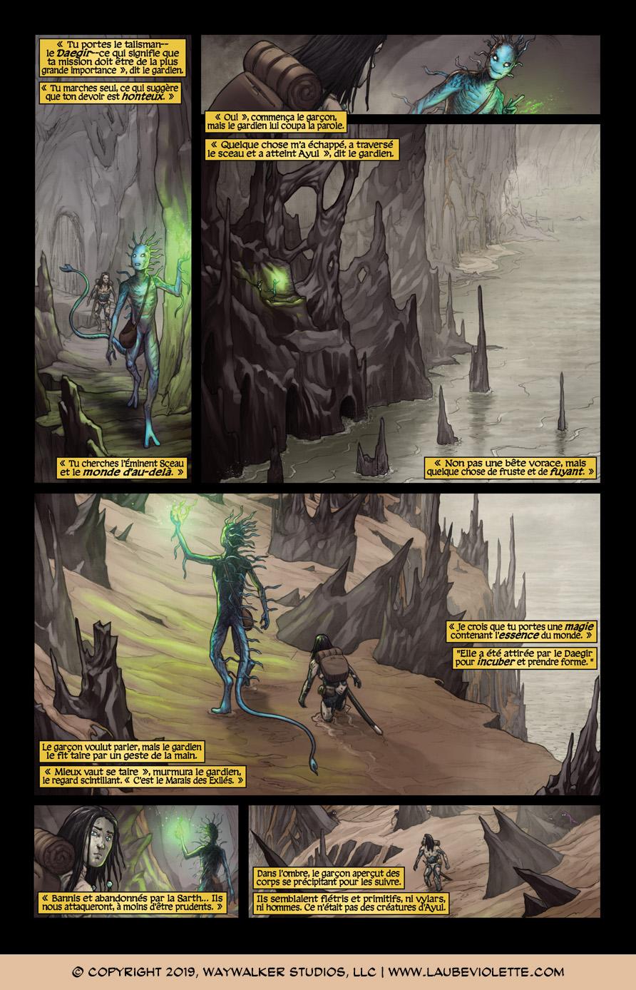 L'Aube Violette: L'Exil – Tome 3, Page 4