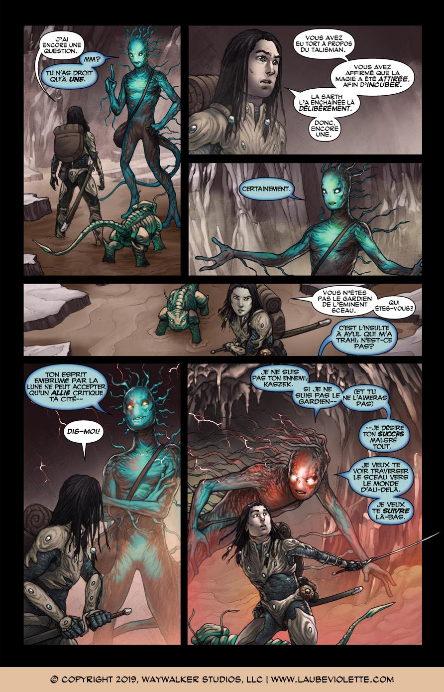 L'Aube Violette: L'Exil – Tome 3, Page 8