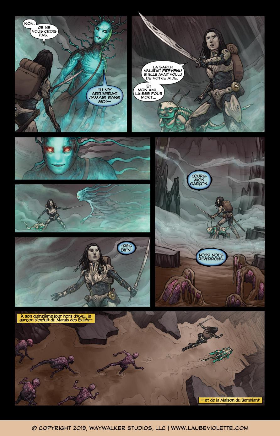 L'Aube Violette: L'Exil – Tome 3, Page 10