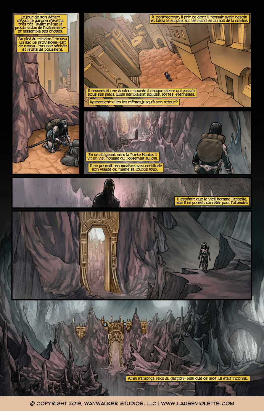 L'Aube Violette: L'Exil – Tome 4, Page 10