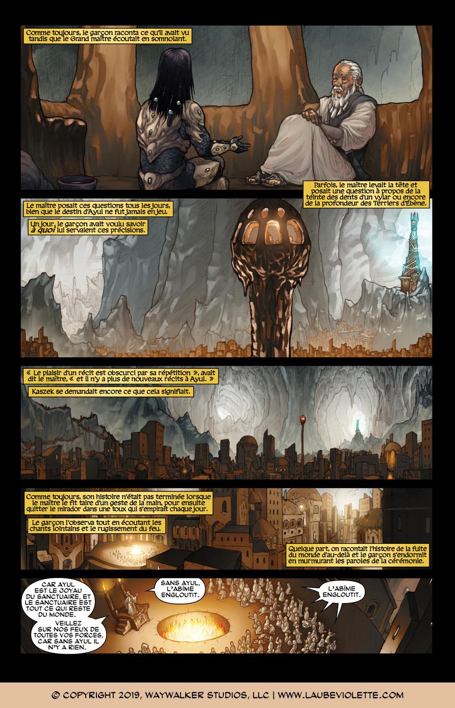 L'Aube Violette: L'Exil – Tome 4, Page 5