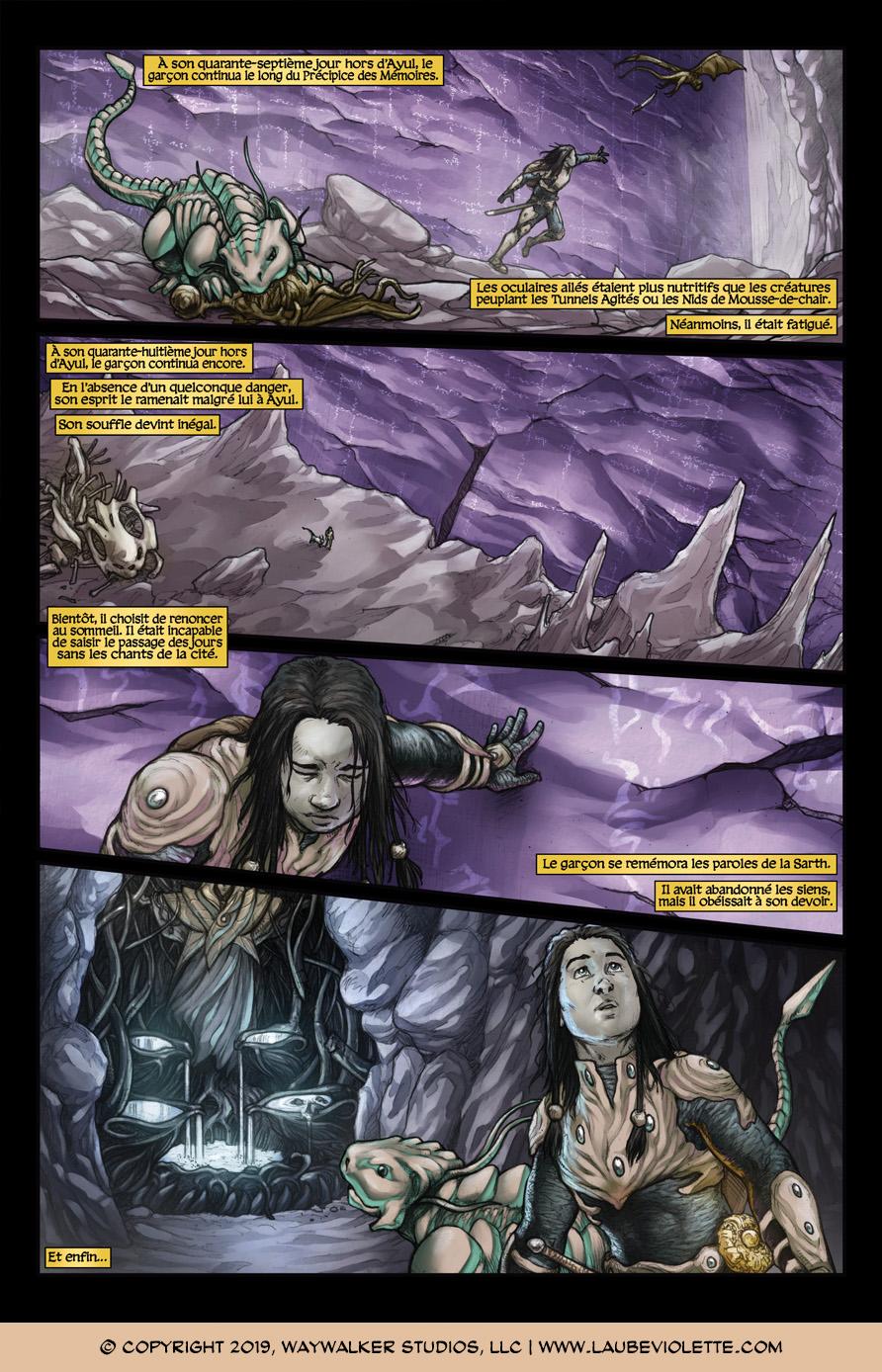 L'Aube Violette: L'Exil – Tome 5, Page 6