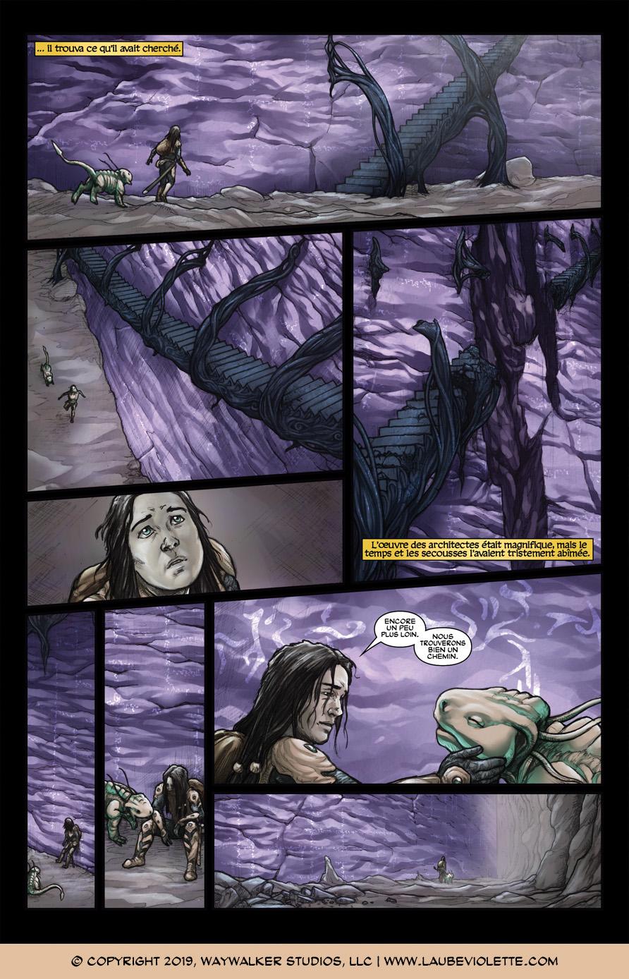 L'Aube Violette: L'Exil – Tome 5, Page 7