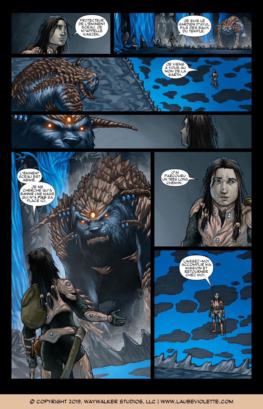 L'Aube Violette: L'Exil – Tome 6, Page 2
