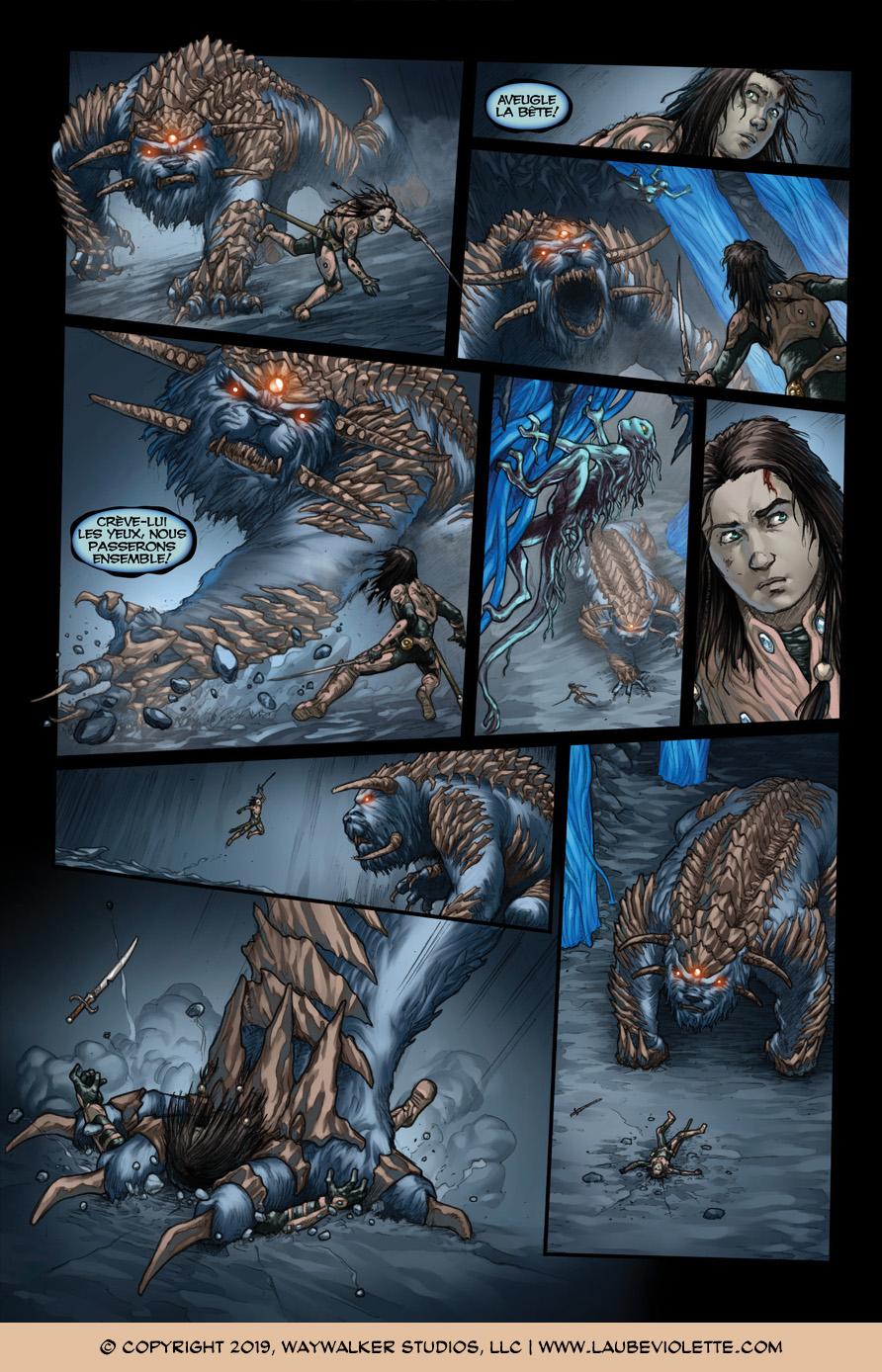 L'Aube Violette: L'Exil – Tome 6, Page 5