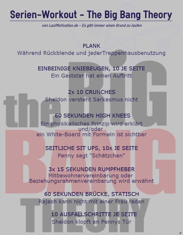 The Big Bang Theory - Workout