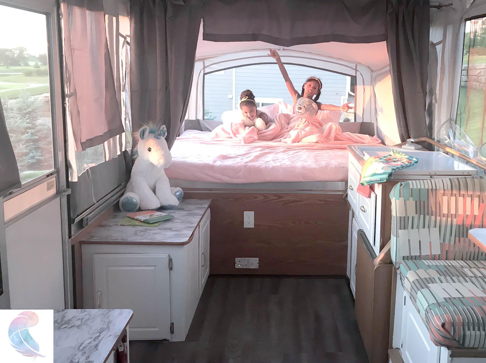 Pimp My Pop Up Camper Dione S Pop Up Camper Remodel