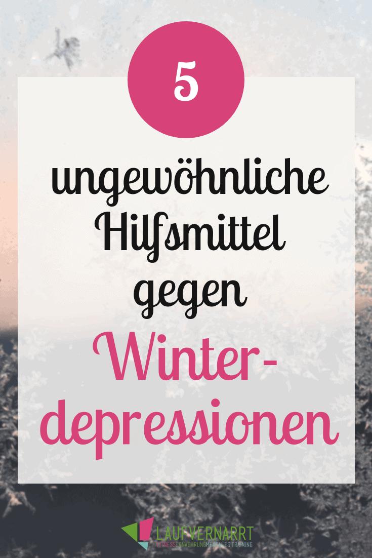 Kennst du das Gefühl von Winterdepressionen? Hier stelle ich dir 5 Hilfsmittel dagegen vor! So kommst auch du fit und gesund durch den Winter.